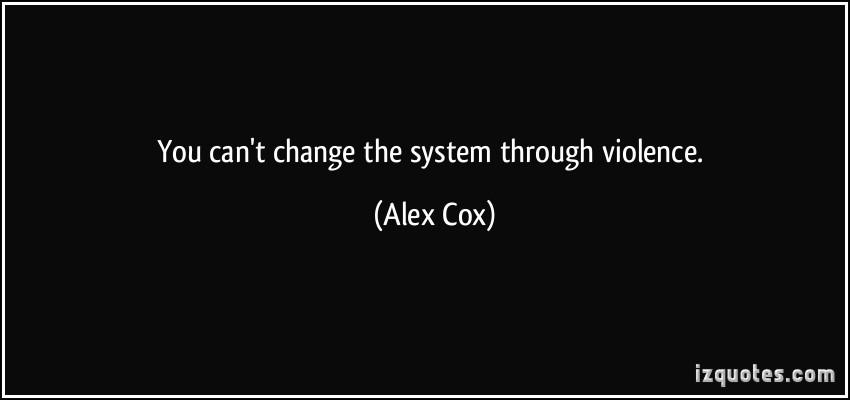 Alex Cox's quote