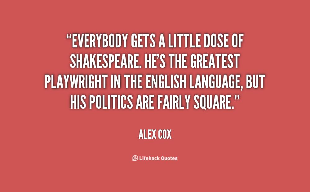 Alex Cox's quote #3