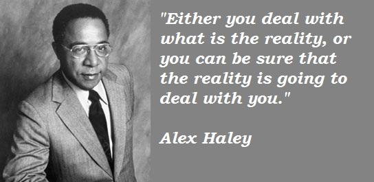 Alex Haley's quote #1