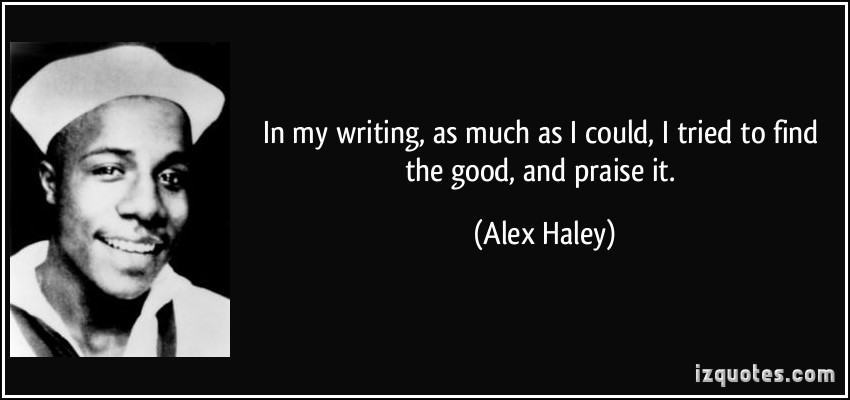 Alex Haley's quote #2