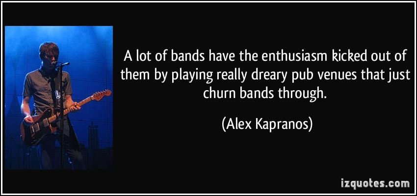 Alex Kapranos's quote #7
