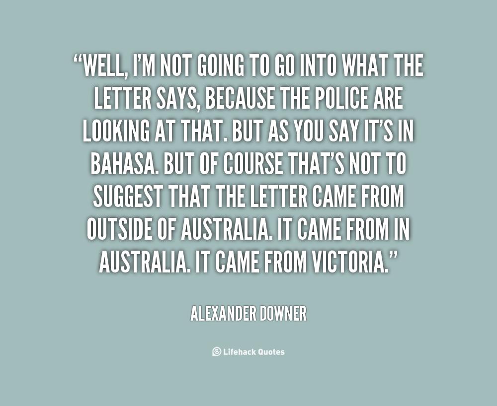 Alexander Downer's quote #5