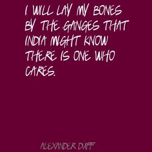 Alexander Duff's quote #1