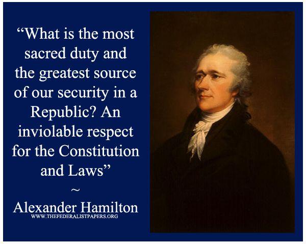 Alexander Hamilton's quote #7