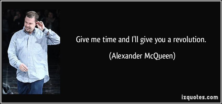 Alexander McQueen's quote #8