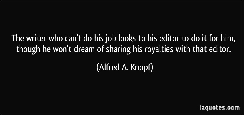 Alfred A. Knopf's quote #1