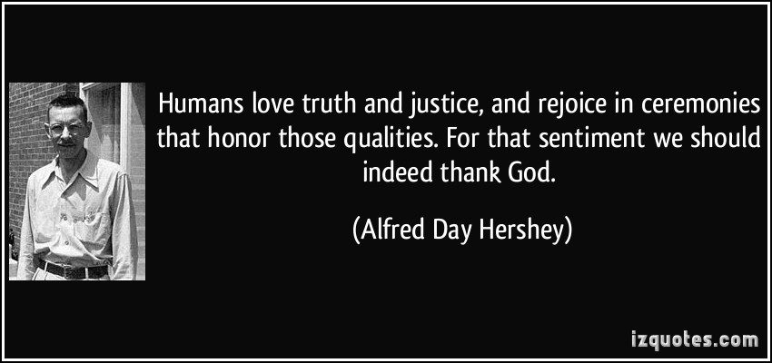 Alfred Day Hershey's quote #1