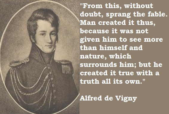 Alfred De Vigny Quotes 44 Wallpapers: Alfred De Vigny's Quotes, Famous And Not Much