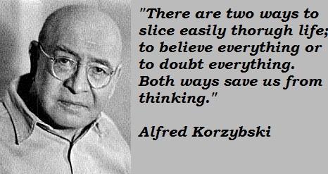 Alfred Korzybski's quote #3