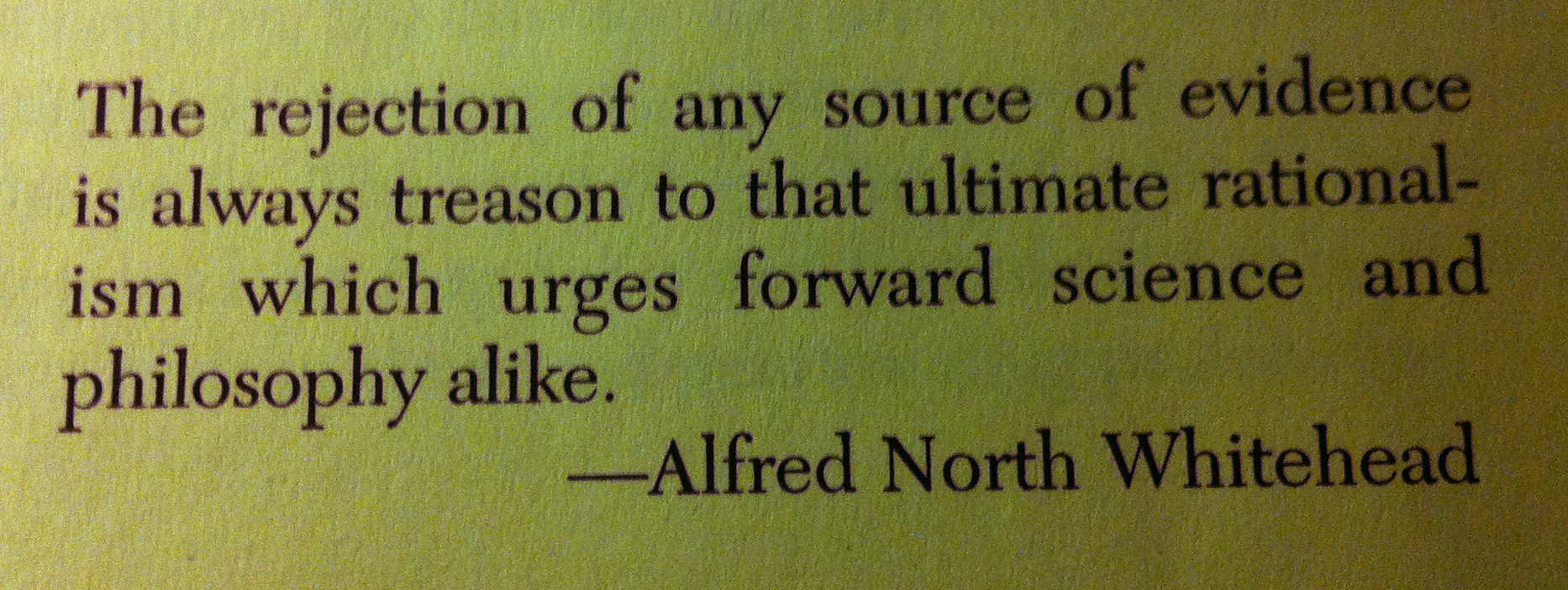 Alfred North Whitehead's quote #4