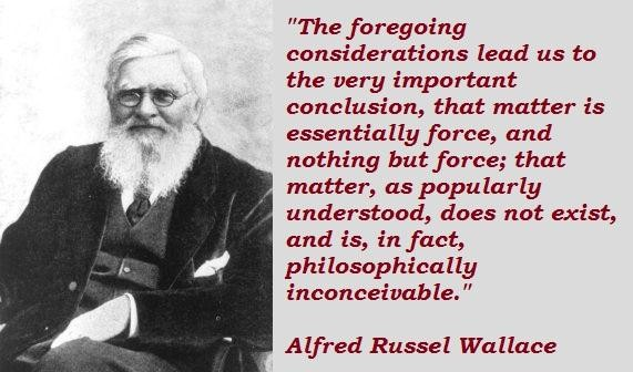 Alfred Russel Wallace's quote #6