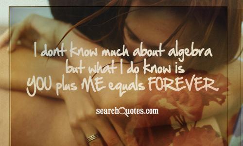 Algebra quote #1