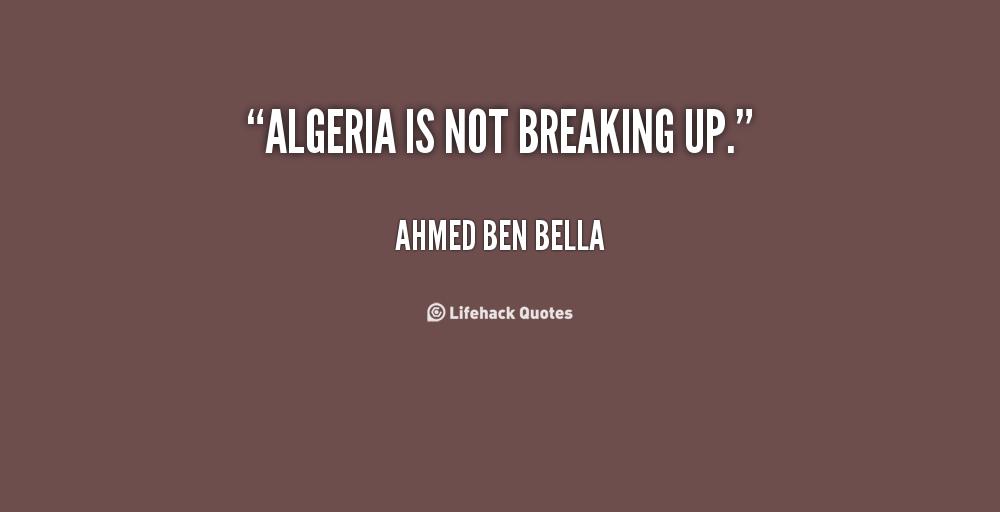 Algeria quote #1