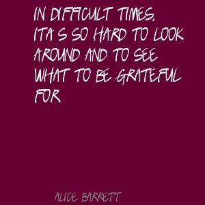 Alice Barrett's quote #2