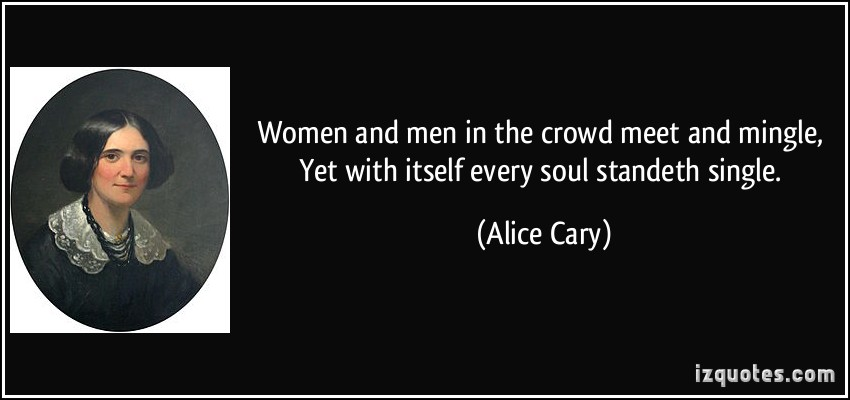 Alice Cary's quote