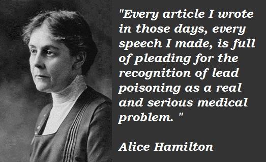 Alice Hamilton's quote #2