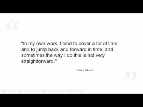 Alice Munro's quote #5