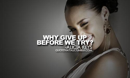 Alicia Keys's quote