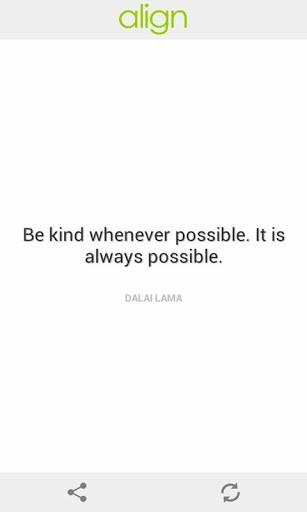 Align quote #1