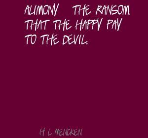 Alimony quote #2