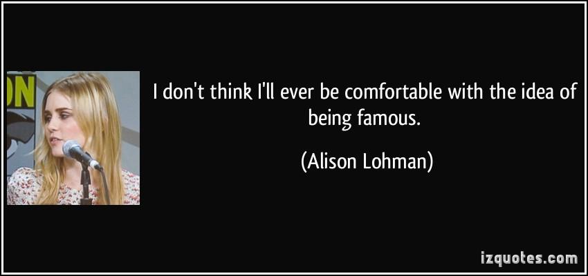 Alison Lohman's quote #5
