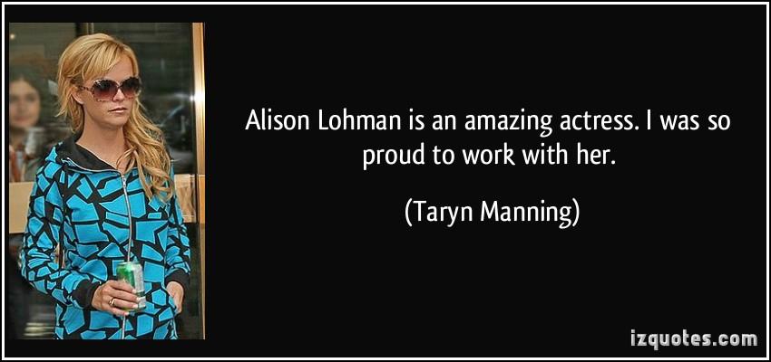 Alison Lohman's quote #2