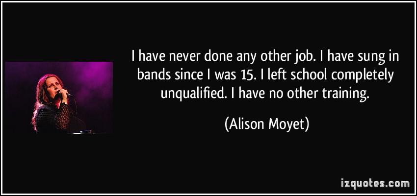 Alison Moyet's quote #6