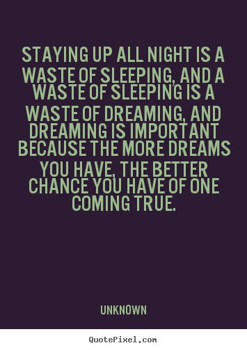 All Night quote #2