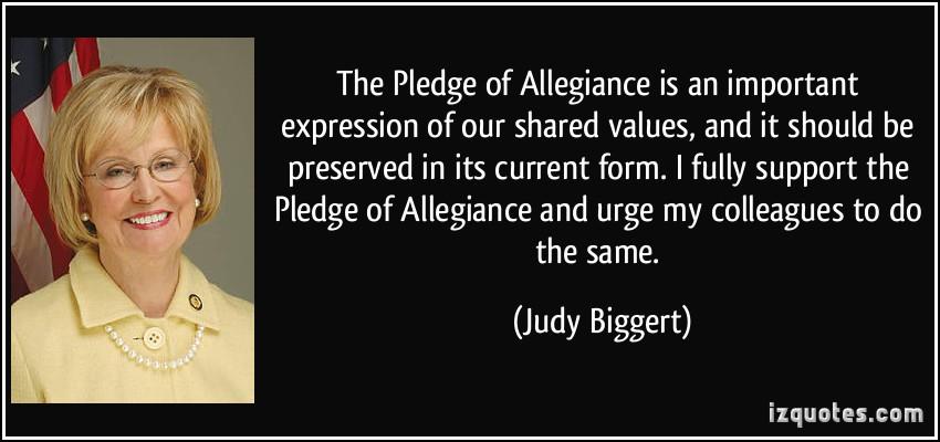 Allegiance quote