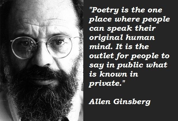Allen Ginsberg's quote #6