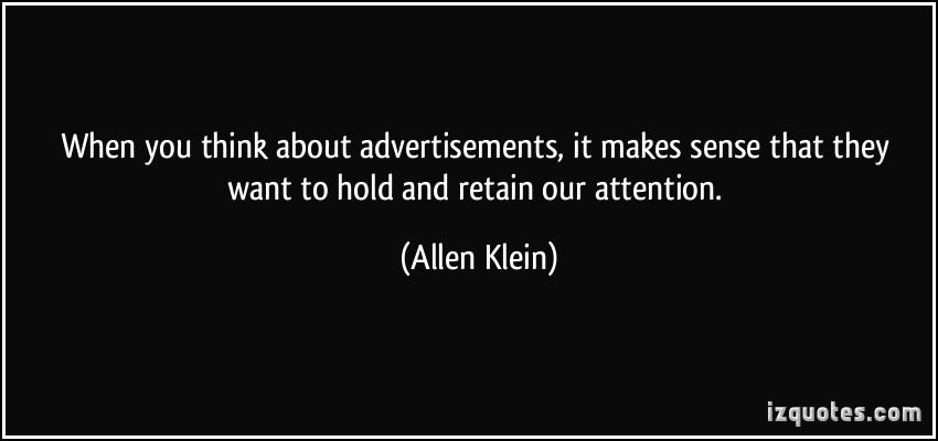 Allen Klein's quote #1