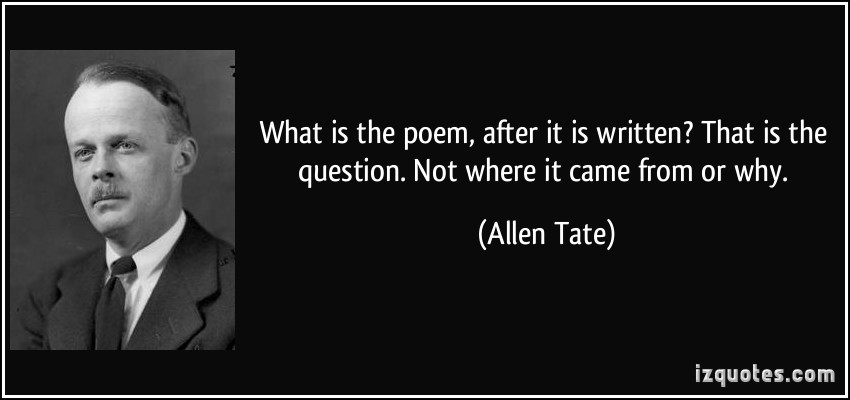 Allen Tate's quote #8
