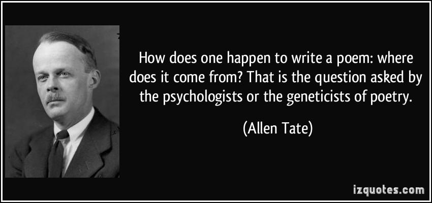 Allen Tate's quote #2