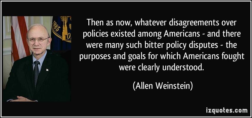 Allen Weinstein's quote #1