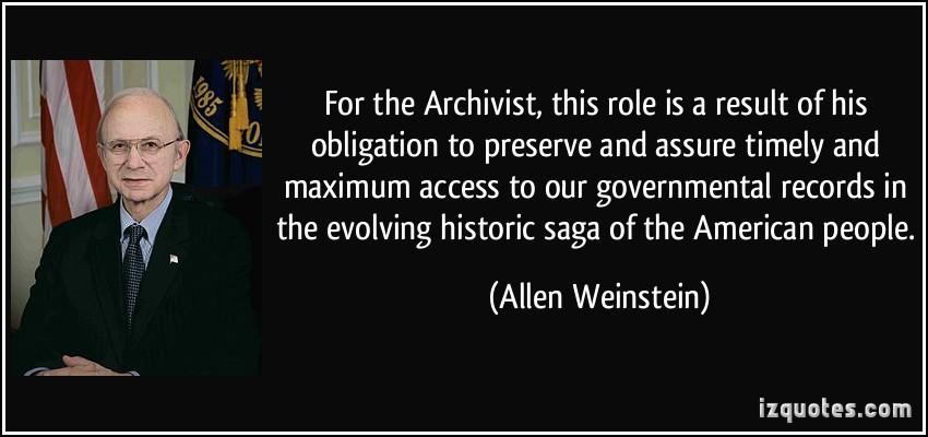 Allen Weinstein's quote #2
