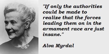 Alva Myrdal's quote #8
