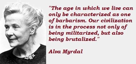 Alva Myrdal's quote #6