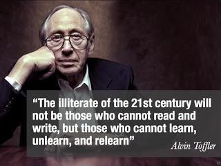 Alvin Toffler's quote #1