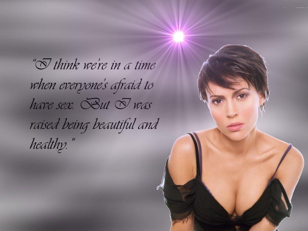 Alyssa Milano's quote #4