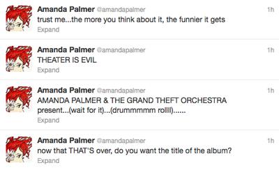 Amanda Palmer's quote #1