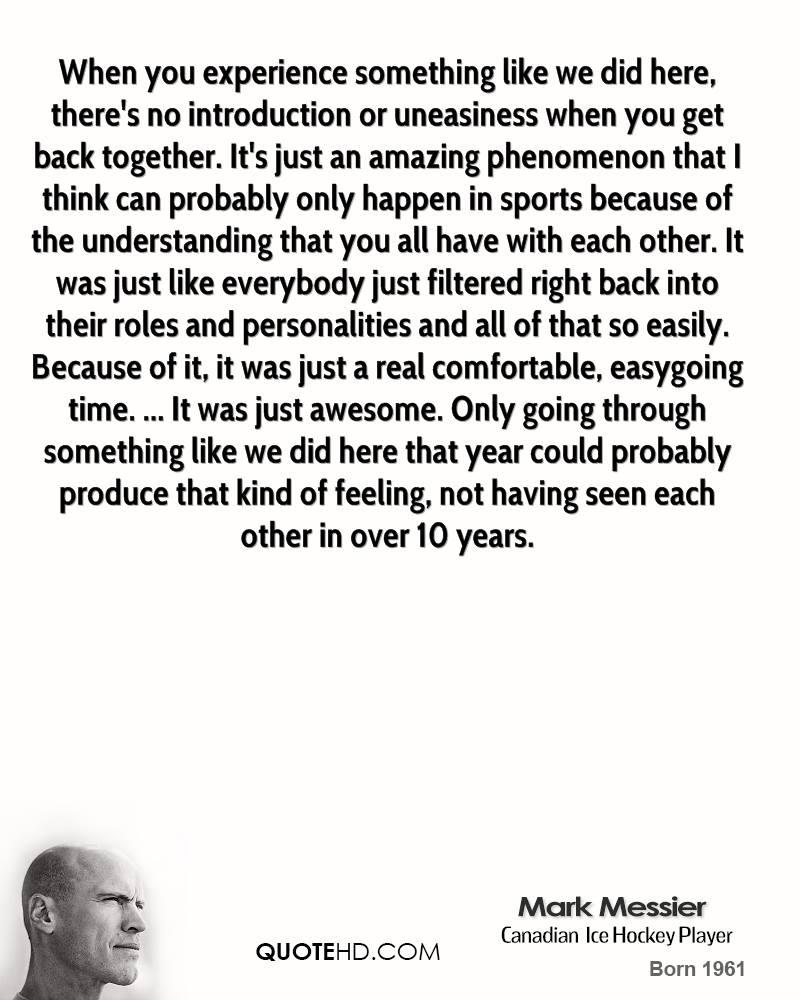 Amazing Experience quote #1