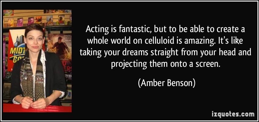 Amber Benson's quote #7