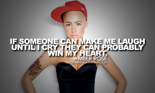 Amber Rose's quote #1