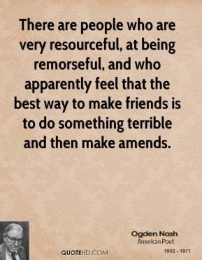 Amends quote #2