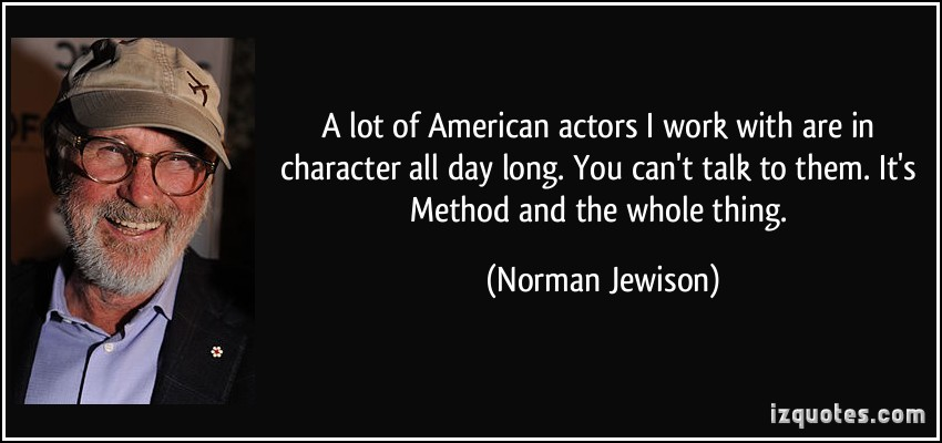 American Actors quote #1
