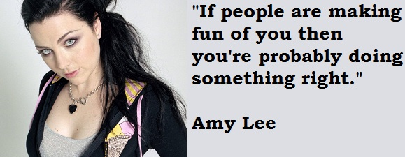 Amy Lee's quote #4