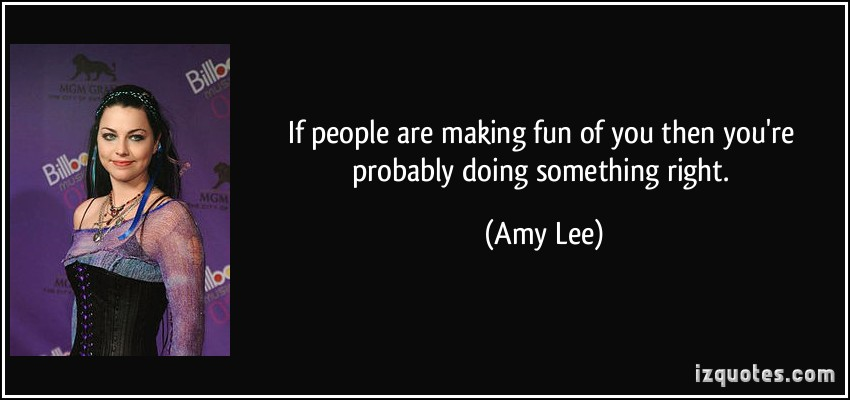 Amy Lee's quote
