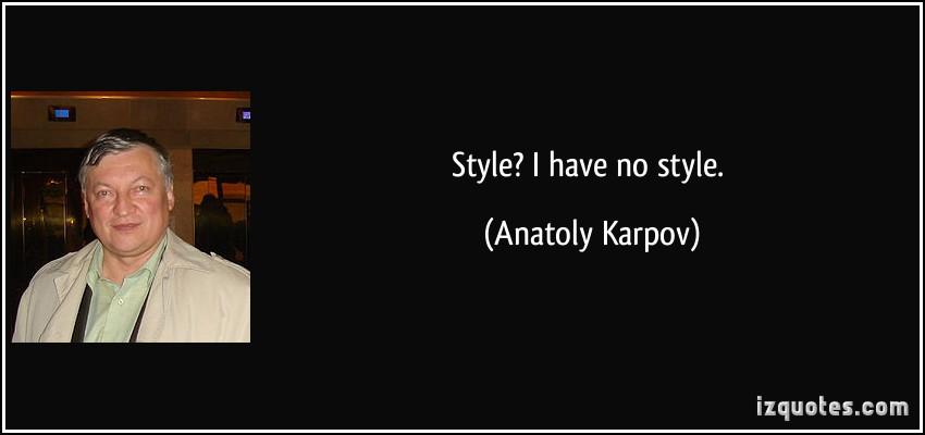 Anatoly Karpov's quote #8