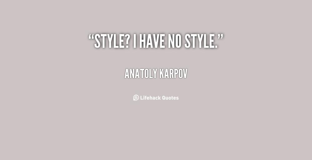 Anatoly Karpov's quote #6