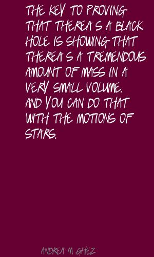 Andrea M. Ghez's quote #3